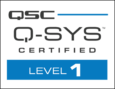QSC Q-SYS Certified Level 1